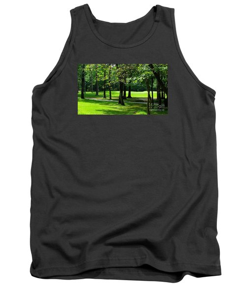 Tank Top featuring the photograph Summer Walk by Geraldine DeBoer