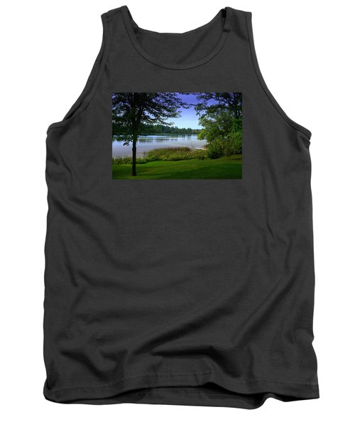 Tank Top featuring the photograph Summer's End by Judy  Johnson