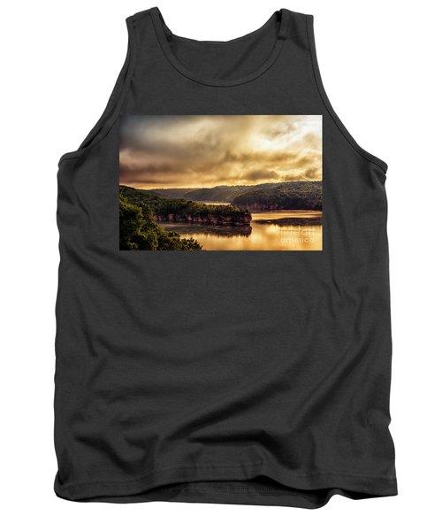 Summersville Lake At Daybreak Tank Top