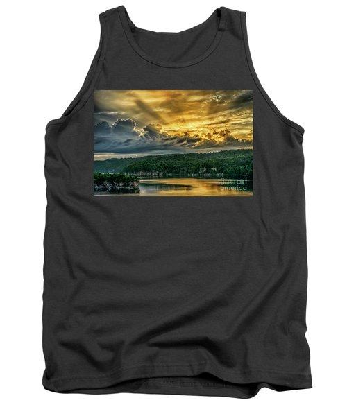 Summersville Lake Sunrise Tank Top