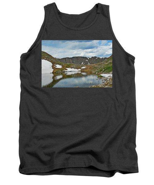 Summit Lake In Summer Tank Top