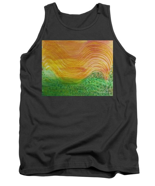 Sun And Grass In Harmony Tank Top