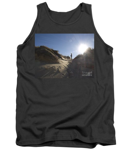 Tank Top featuring the photograph Sun And Sand  by Tara Lynn