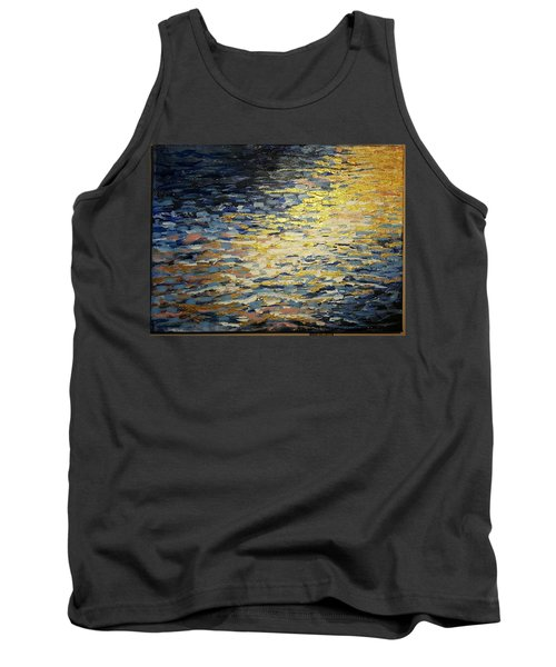 Sun And Wind On Water Tank Top