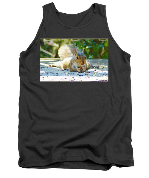 Sun Bathing Squirrel Tank Top