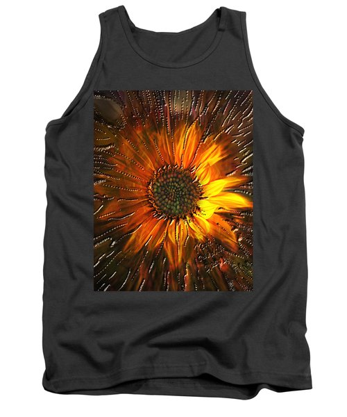 Sun Burst Tank Top by Kevin Caudill