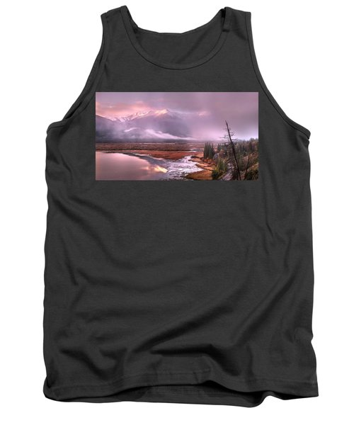 Tank Top featuring the photograph Sun Dance by John Poon