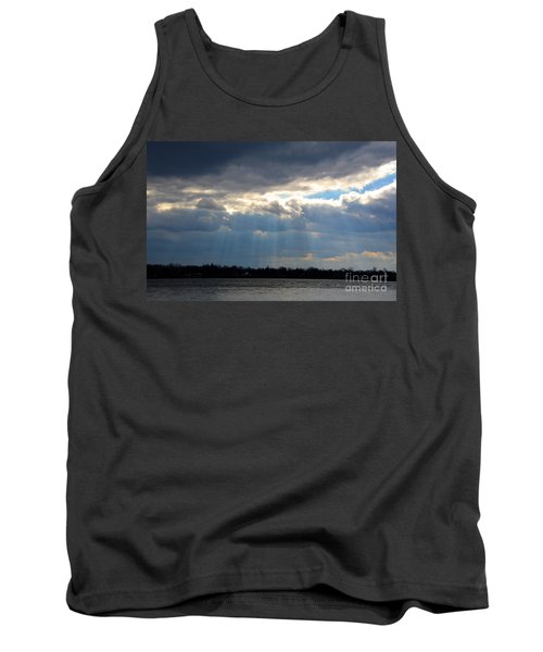 Sun Dance On The Delaware River Tank Top