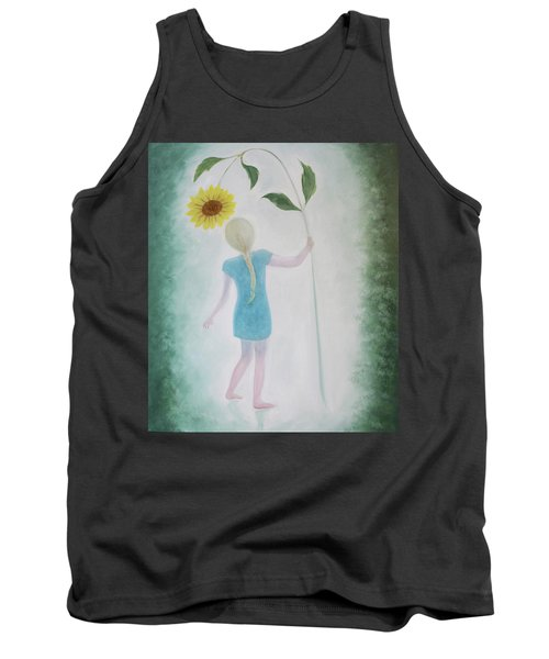 Sun Flower Dance Tank Top by Tone Aanderaa
