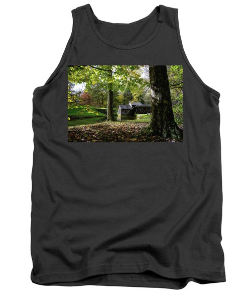 Sun Going Down At The Mill Tank Top