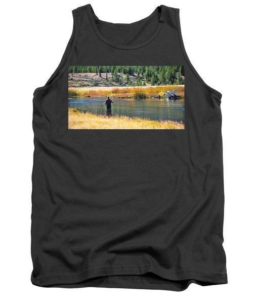 Sun Lights The Line Tank Top by Eric Tressler