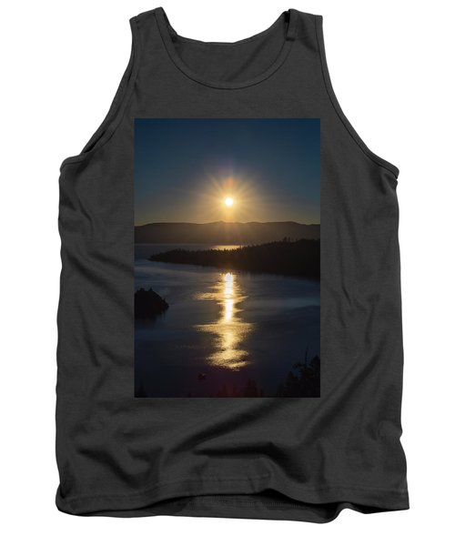 Sun Rising Over Lake Tahoe Tank Top