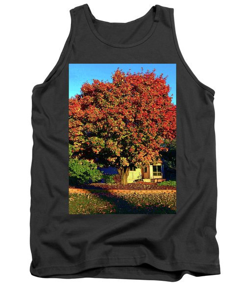 Sun-shining Autumn Tank Top