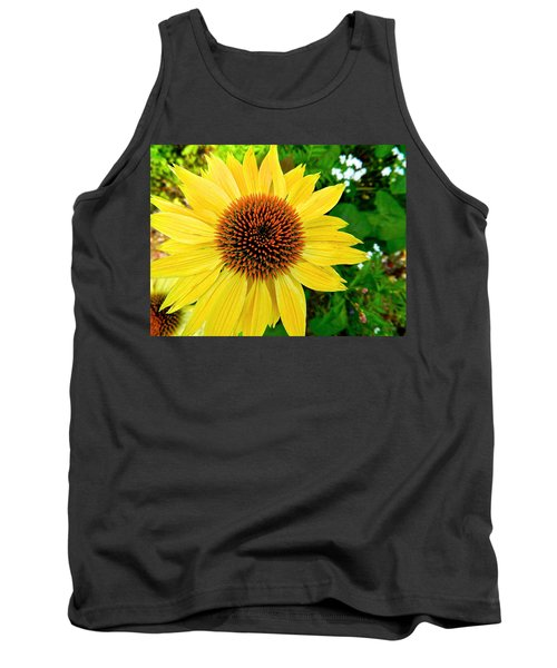 Sun Soaked Echinacea Tank Top