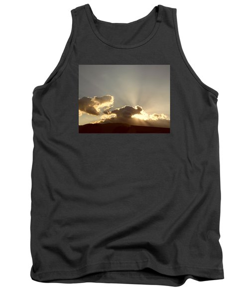 Trumpeting Triumphantly Sunrise Tank Top