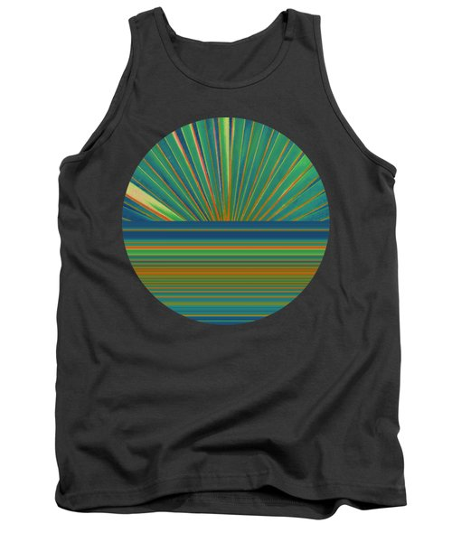 Sunburst Tank Top by Michelle Calkins