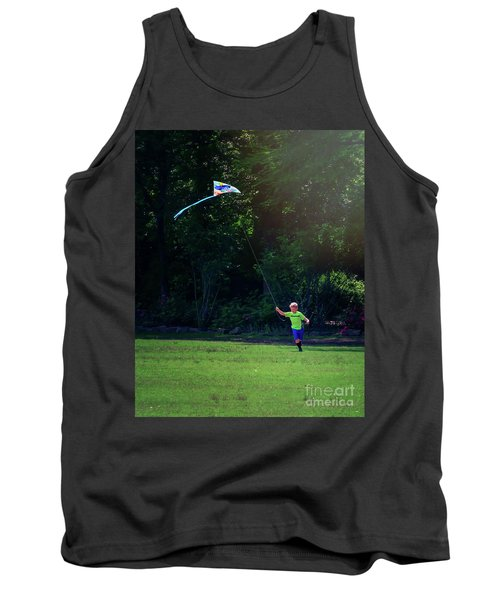 Sunday Funday At Honor Heights In Vertical Tank Top