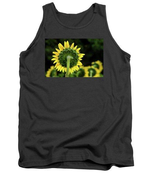 Sunflower Back Tank Top