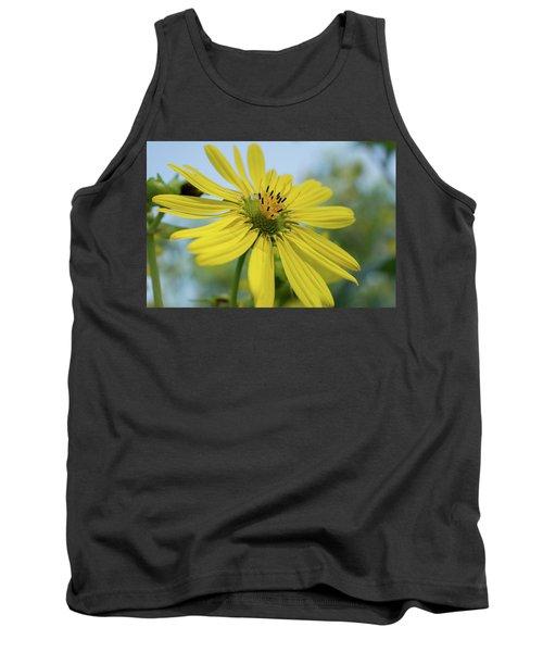 Sunflower Close-up Tank Top