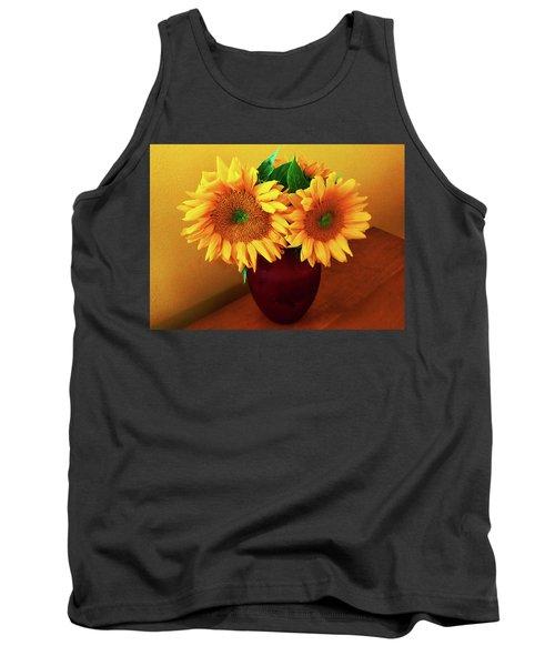 Sunflower Corner Tank Top