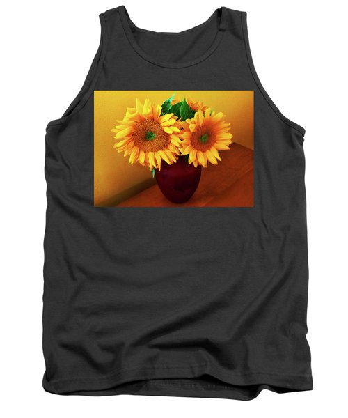 Sunflower Corner Tank Top