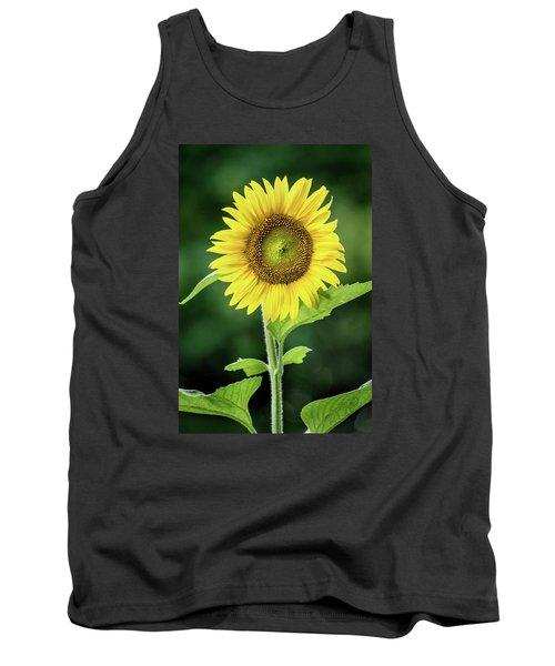 Sunflower In Bloom Tank Top