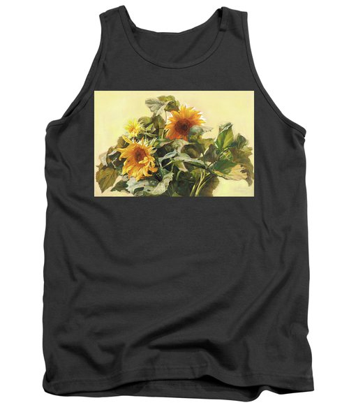 Sunflower In Love - Good Morning America Tank Top