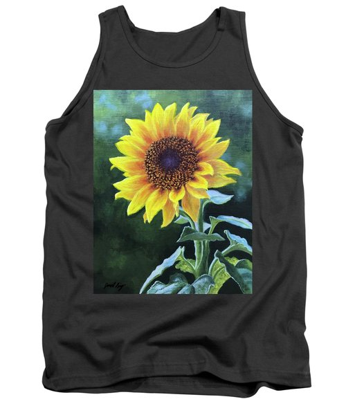 Sunflower Tank Top by Janet King