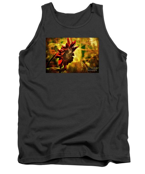 Sunflower Tank Top by Lois Bryan