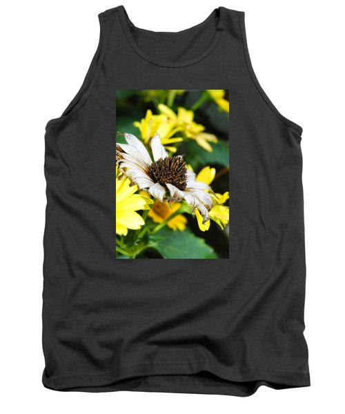 Tank Top featuring the photograph Sunflower Promise by Margie Avellino