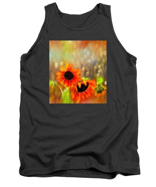 Sunflower Rain Tank Top