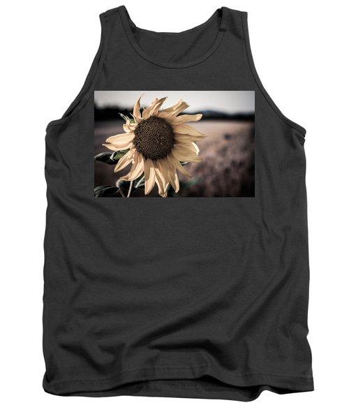 Sunflower Solitude Tank Top