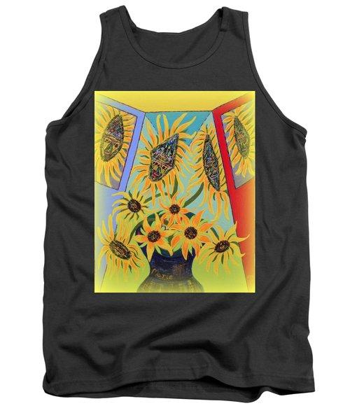 Sunflowers Rhapsody Tank Top