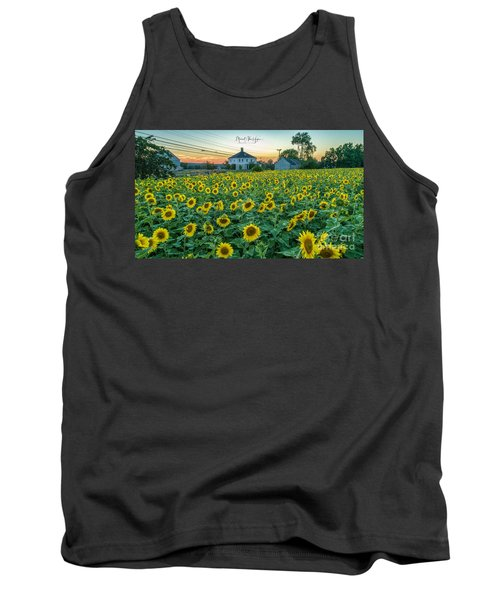 Sunflowers For Wishes  Tank Top
