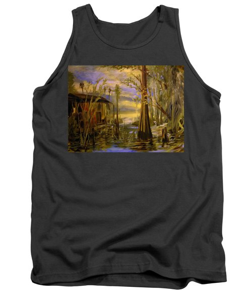 Sunlight On The Swamp Tank Top