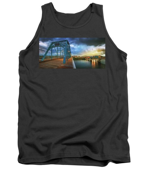 Sunlight Thru Rain Over Chattanooga Tank Top