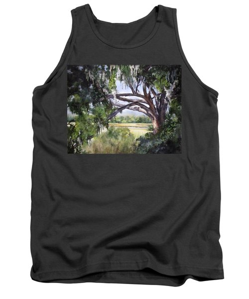 Sunlit Marsh Tank Top