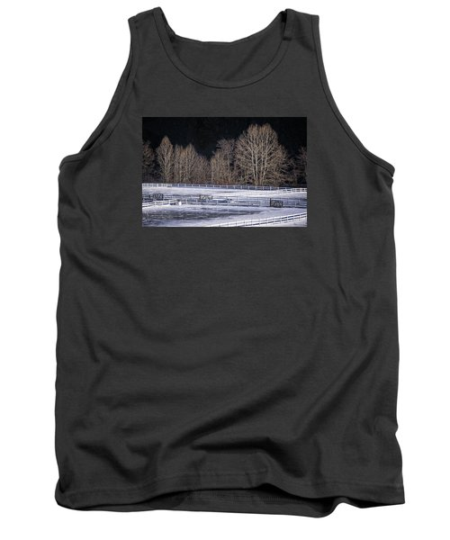 Sunlit Trees Tank Top