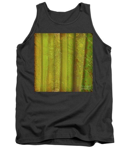 Sunlit Fall Forest Tank Top