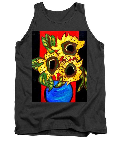 Sunny Sunflowers 1 Tank Top