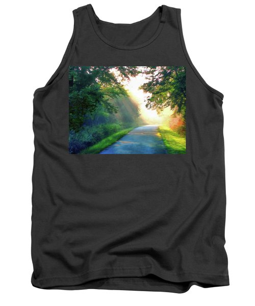 Sunny Trail Tank Top by Cedric Hampton