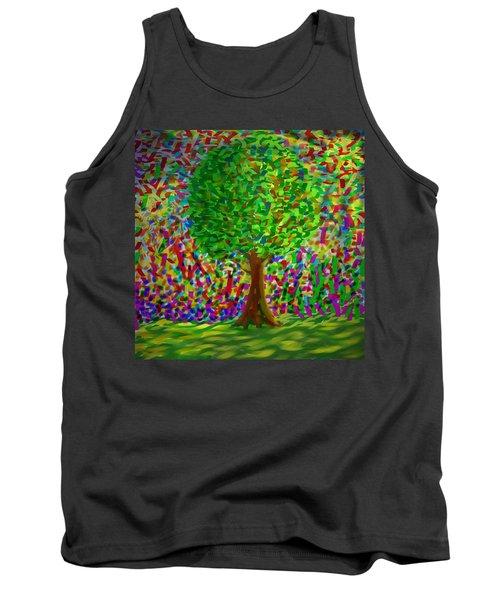 Sunny Tree Tank Top by Kevin Caudill