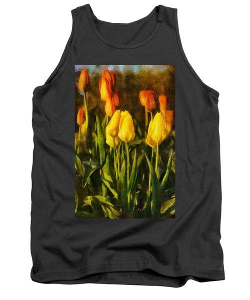 Sunny Tulips Tank Top