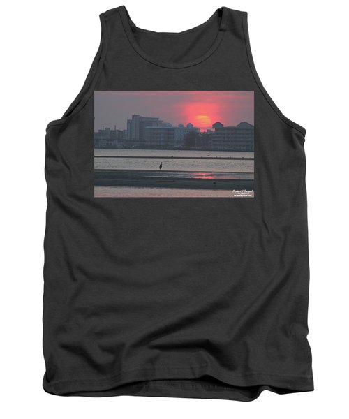 Sunrise And Skyline Tank Top by Robert Banach
