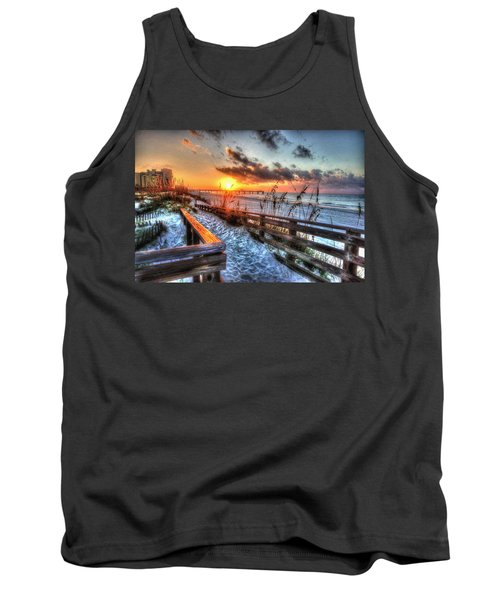 Sunrise At Cotton Bayou  Tank Top