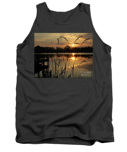 Sunrise At Grayton Beach Tank Top