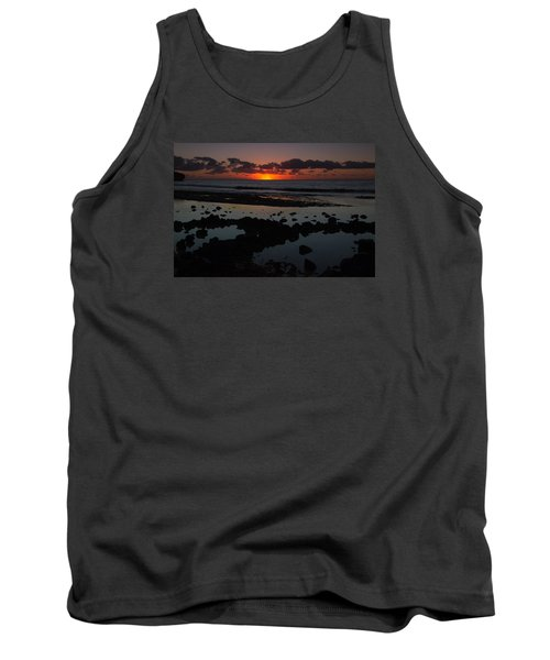 Sunrise At Shipwreck Beach Tank Top by Roger Mullenhour