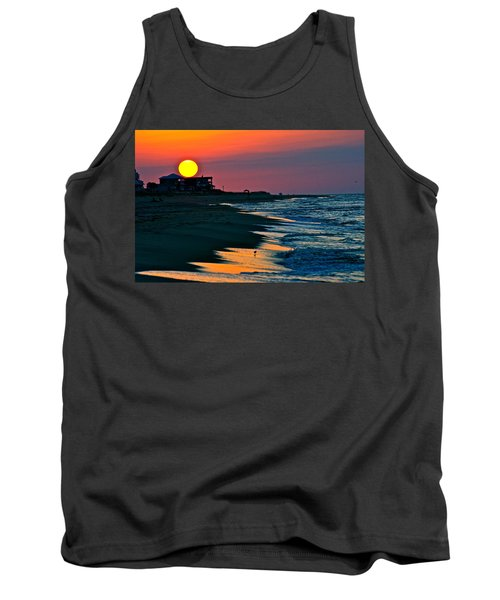 Sunrise At St. George Island Florida Tank Top