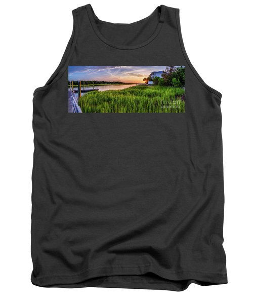 Sunrise At The Boat Ramp Tank Top