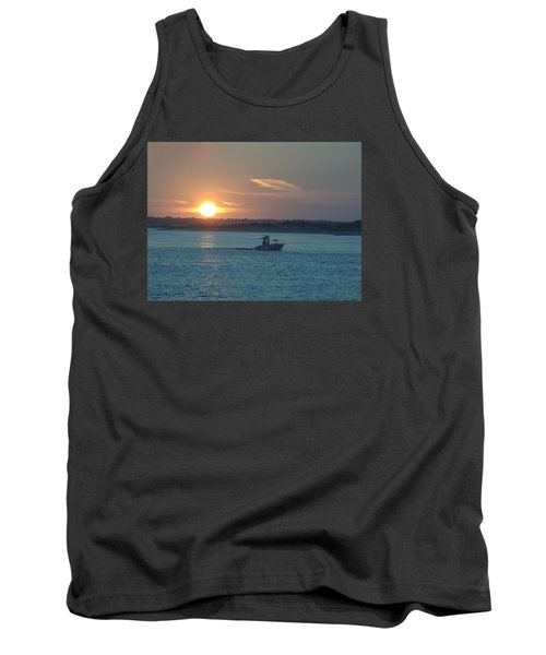 Sunrise Bassing Tank Top by  Newwwman